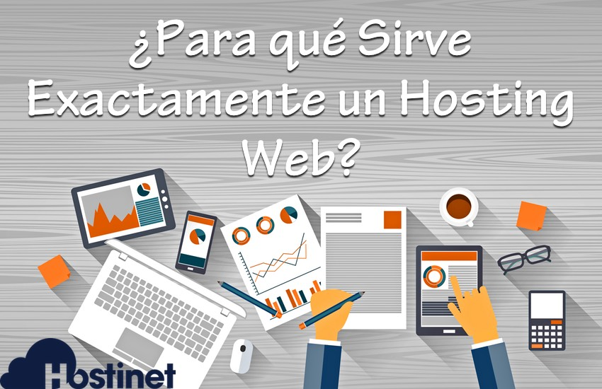 para que sirve exactamente un hosting web en Hostinet