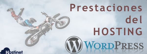 Truco 3 - Prestaciones del Hosting WordPress