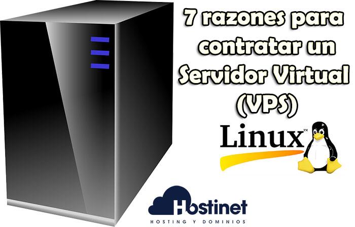 7 razones para contratar un servidor virtual (VPS) con Linux