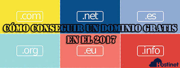 cómo conseguir un dominio gratis en el 2017