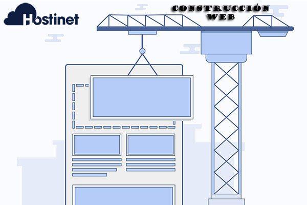 construcción web hostinet