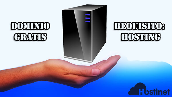 dominio gratis requisito hosting