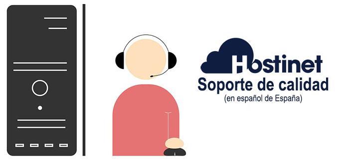 Hostinet Soporte de calidad en español de España