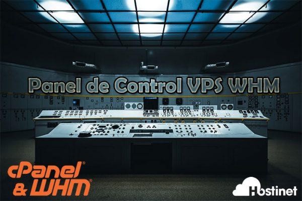 panel control vps whm hostinet