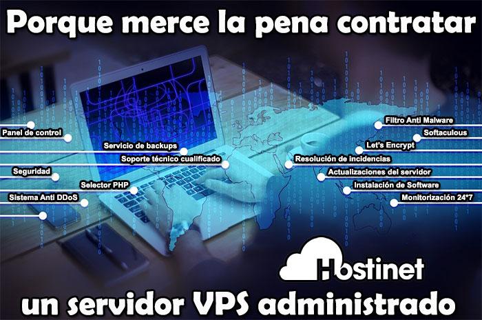 Porque merece la pena contratar un servidor VPS administrado