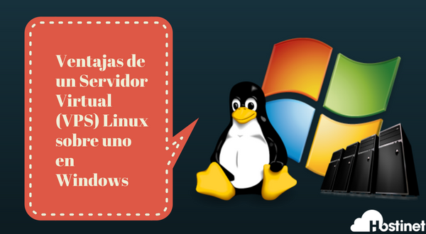 Ventajas de un Servidor Virtual (VPS) Linux sobre uno en Windows