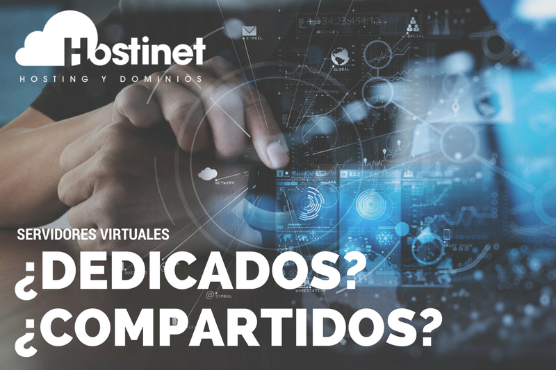 Diferencias entre un Servidor Virtual Dedicado y un Servidor Virtual Compartido