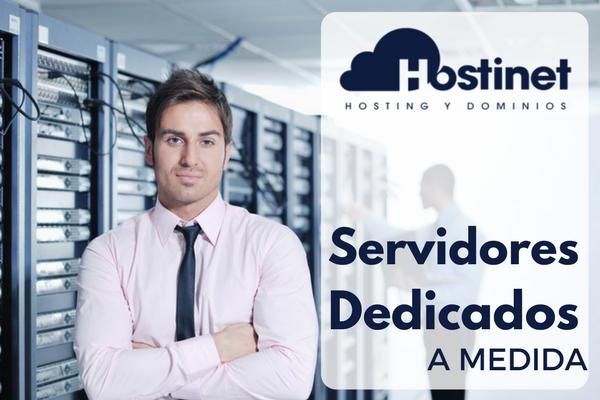 Presupuestos de servidores dedicados y VPS a medida en Hostinet