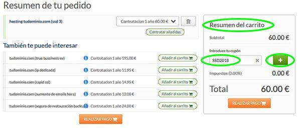 SSD 2018 Resumen Carrito