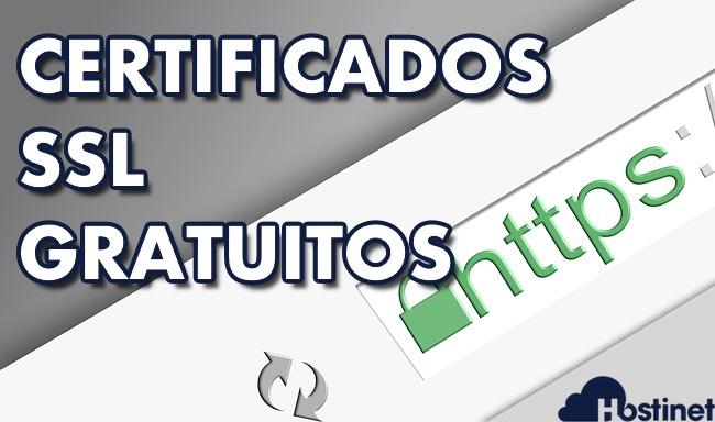 certificados ssl gratuitos en todos los hosting web de Hostinet