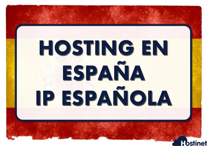 hosting de España con IP espanola
