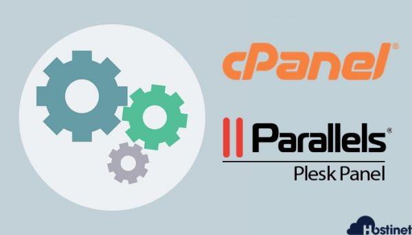 panel control cPanel o Plesk en todos los hosting de Hostinet