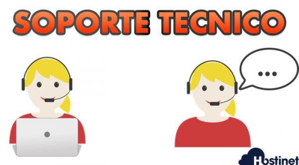 soporte tecnico en los hosting web de hostinet