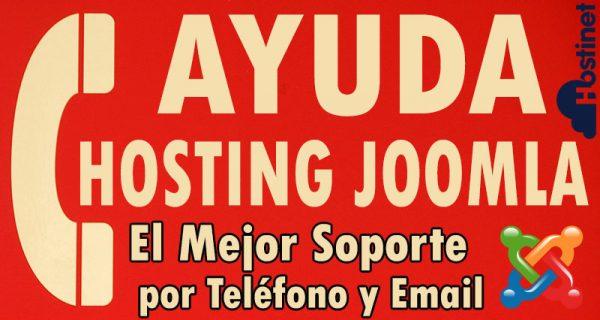 Ayuda Hosting Joomla - El Mejor Soporte por Teléfono y Email