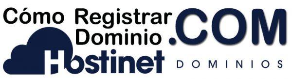 Registrar Dominio .com
