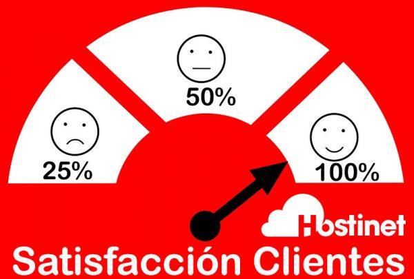hostinet satisfacción clientes