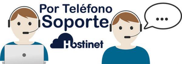 hostinet teléfono soporte
