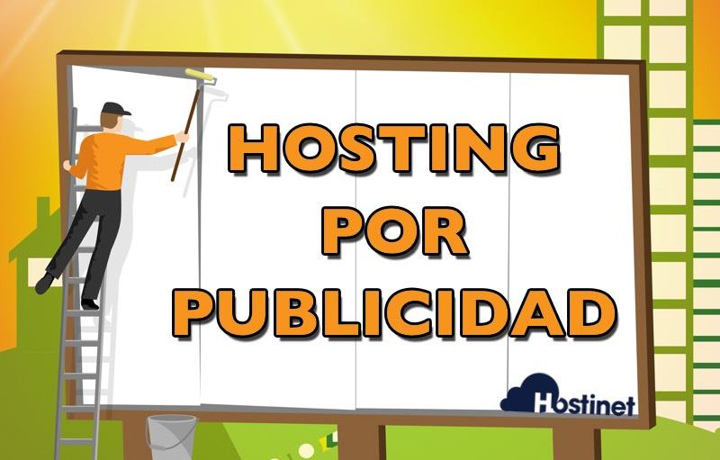 hosting por publicidad