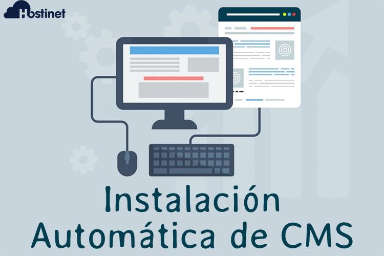 Planes de Hosting CMS con Instalación Automática