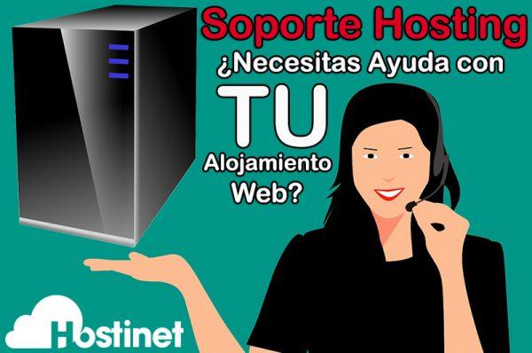 Soporte Hosting ¿Necesitas Ayuda con TU Alojamiento Web?