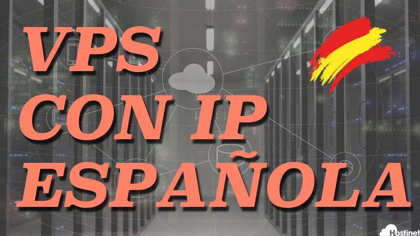 Servidores VPS con IP Española y Centro de Datos en España