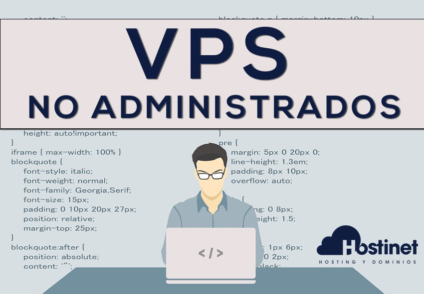 Servidor VPS Administrado por el Cliente en Hostinet