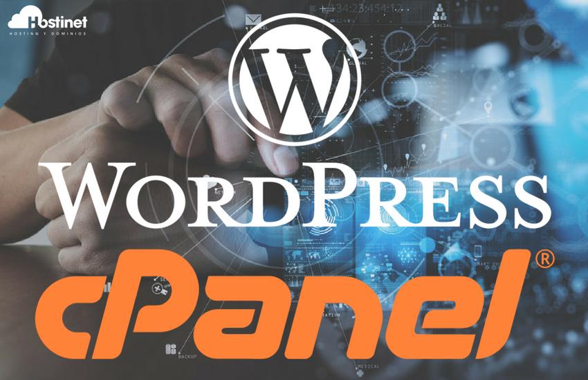 Panel de Control cPanel en Todos los Alojamientos Web WordPress