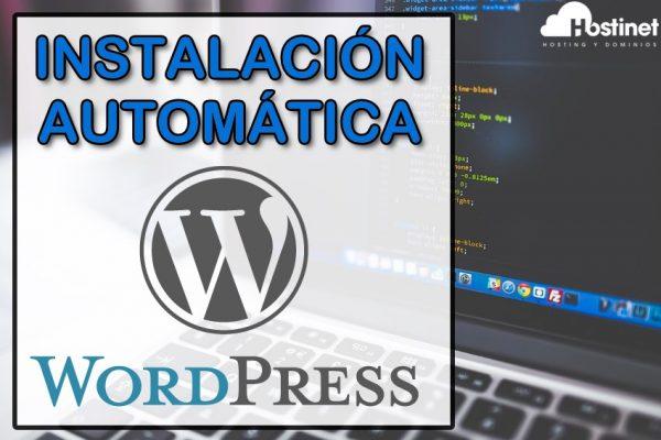 Instalación Automática de WordPress