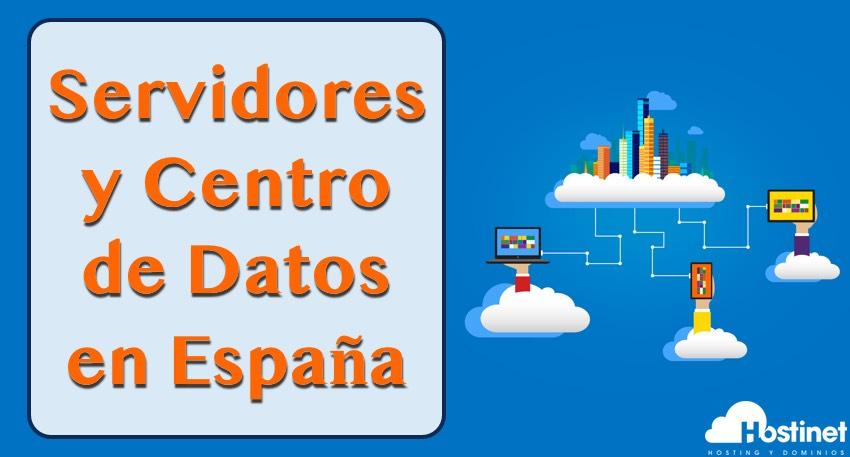 servidores centro datos en España