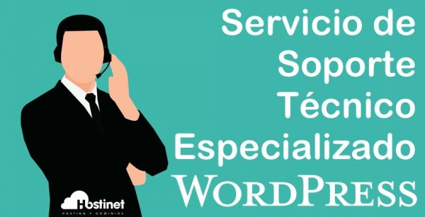 soporte tecnico especializado wordpress en hosting WordPress Hostinet