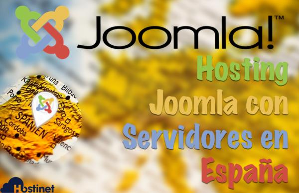 Hosting Joomla con Servidores en España