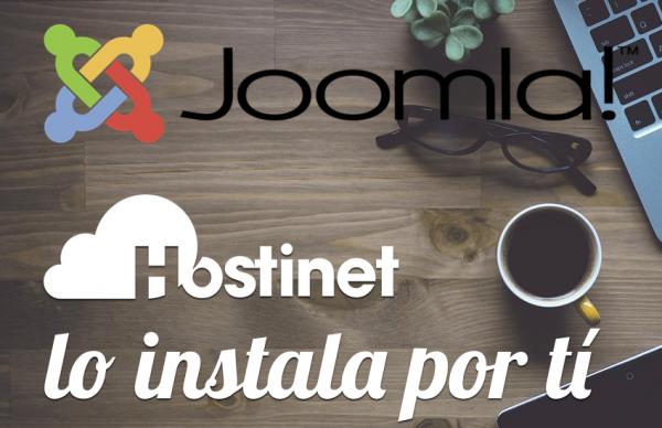 Hosting Joomla con Instalación Automática