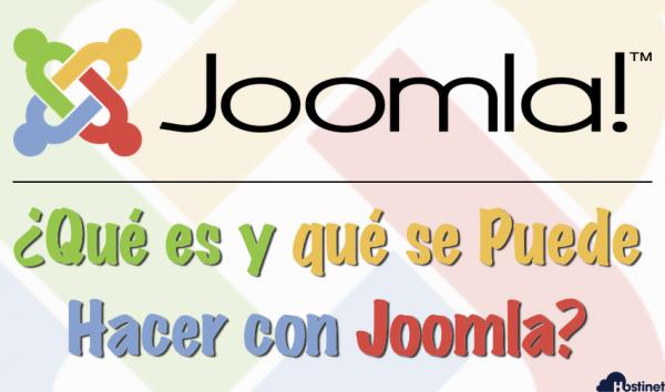 Joomla - Qué es y qué se Puede Hacer con Joomla