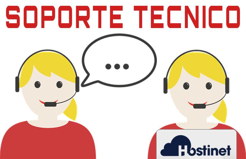 soporte tecnico dominios es hostinet teléfono y email
