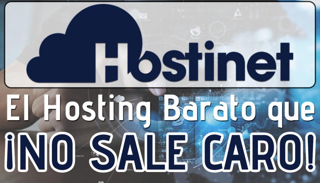 Hostinet, el Hosting Barato que NO SALE CARO