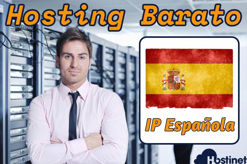 Servidores de Hosting Barato en España y con IP Española