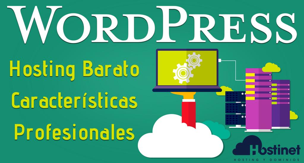 Hosting WordPress Barato con Características Profesionales