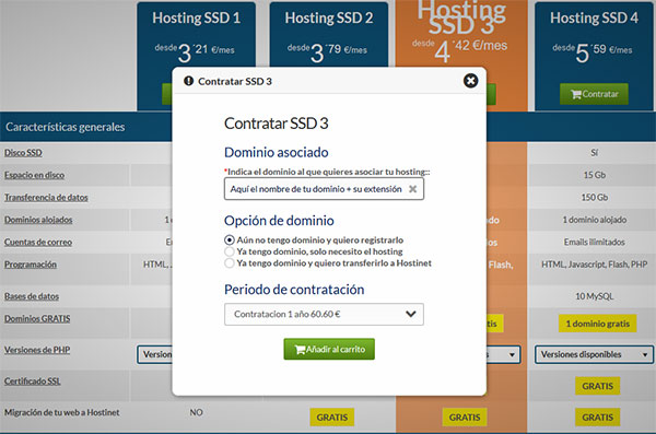 HostingSSD - Contratar Hosting SSD3