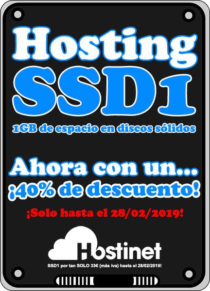 SSD1 Promo 2019 - 40% Descuento