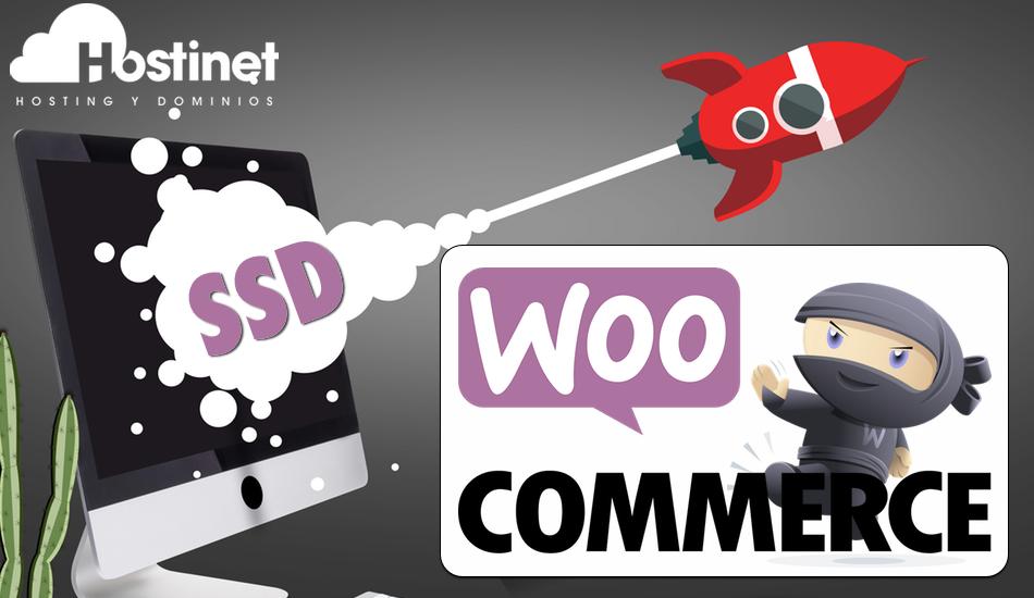 WooCommerce Rápido con los Hosting SSD