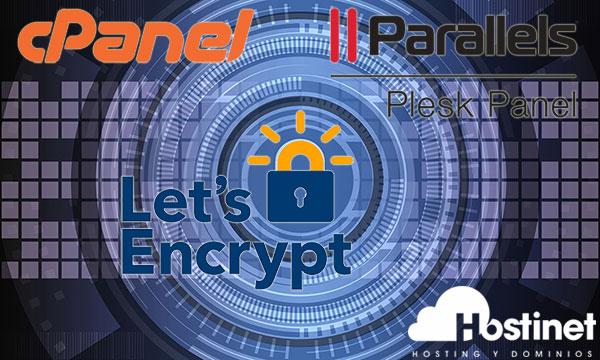 cpanel plesk let's encrypt small