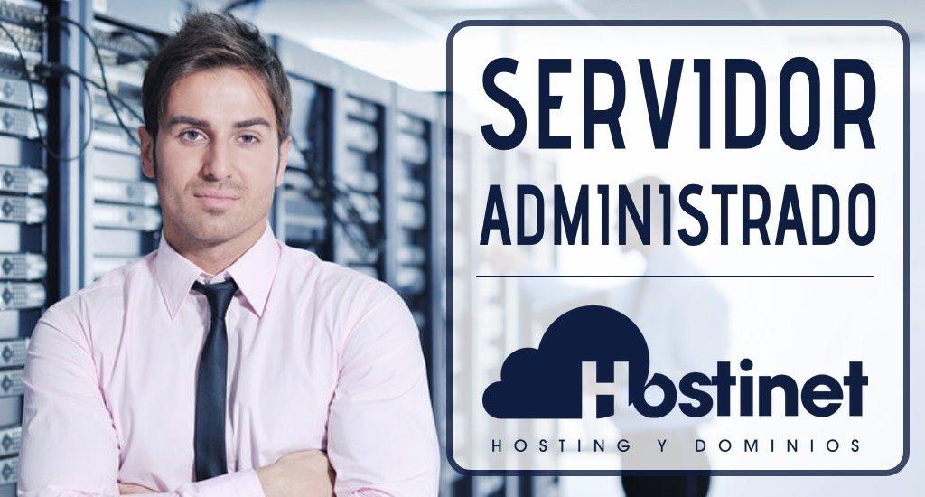 contratar Servidor Administrado en Hostinet